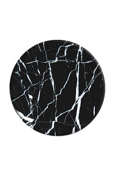 Suport Popsockets Stand Adeziv Black Marble