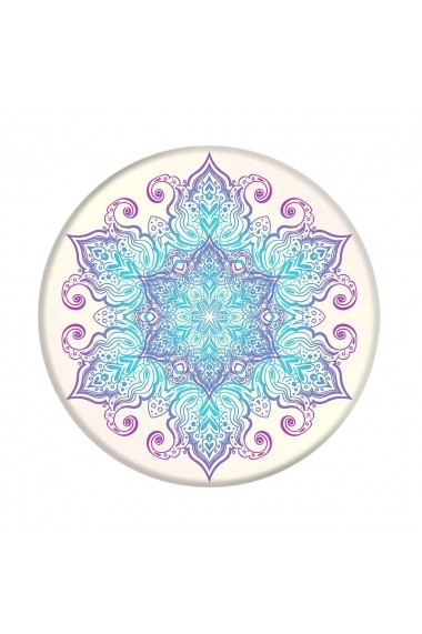Suport Popsockets Stand Adeziv Flower Mandala