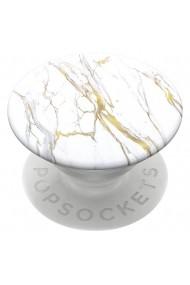 Suport Popsockets Stand Adeziv Calacatta Gold