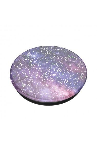 Suport Popsockets PopGrip Premium Stand Adeziv Glitter Nebula