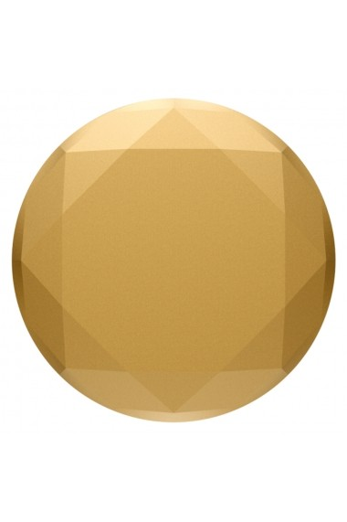 Suport Popsockets PopGrip Premium Stand Adeziv Diamond Medallion Gold