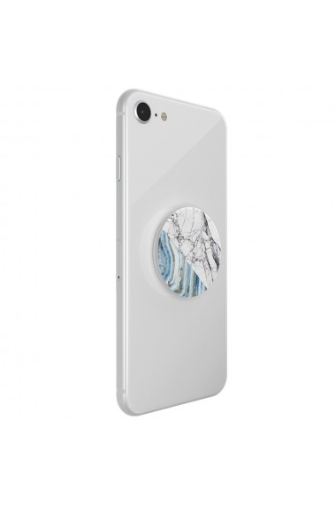 Suport Popsockets PopGrip Stand Adeziv Aegean Marble