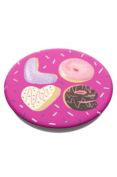 Suport Popsockets PopGrip Stand Adeziv Love Donut