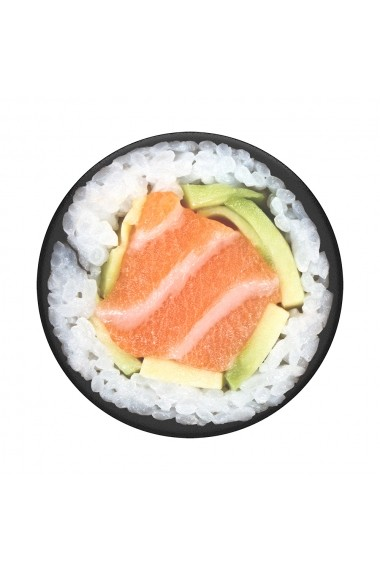 Suport Popsockets PopGrip Stand Adeziv Salmon Roll