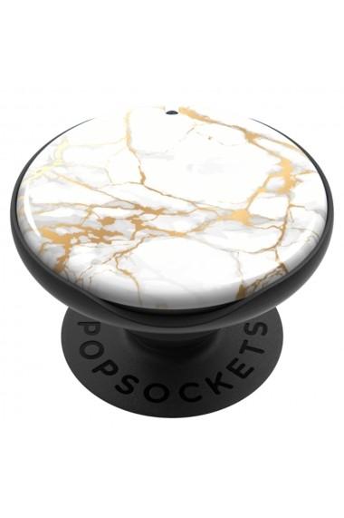 Suport Popsockets PopMirror Stand Adeziv Stone Marble Gloss