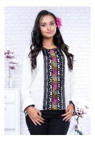 Bluza cu motive traditionale - Flori