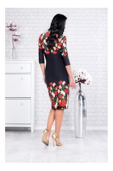Rochie Per Donna pe corp cu imprimeu floral - Zola