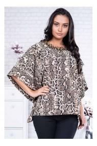 Bluza cu imprimeu sarpe - Demi 94532