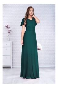 Rochie lunga din voal - Celeste 91463teal Verde