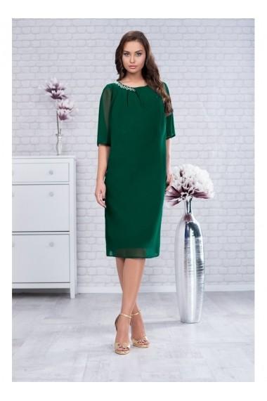 Rochie din voal - Robin 91495vd Verde