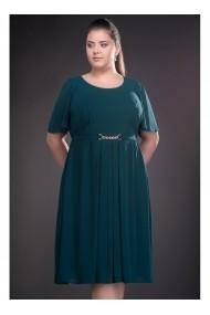Rochie din voal cu fusta clos - Lucinda 81206teal