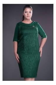 Rochie din jaquard - Dorina 71865vd Verde