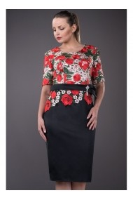 Rochie cu dantela macrame - Brieta 81159 Florala