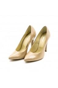 Pantofi din piele TUNGUS 01-PSB Bej