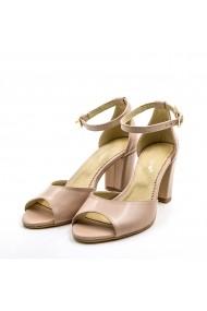 Sandale din piele TUNGUS 01-SBC Bej