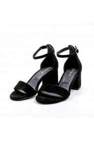 Sandale din piele TUNGUS 01-SNTG Negre