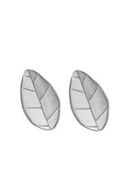 Cercei Leafs Argint 925 Argintiu