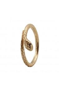 Inel Diamond Snake 2-4b auriu