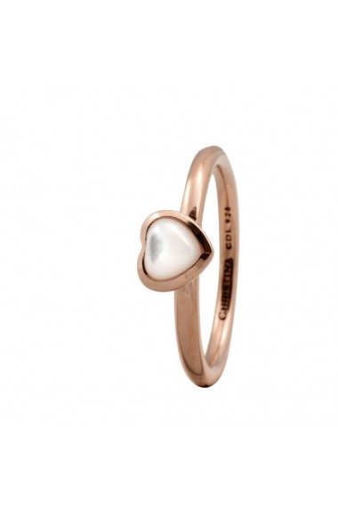 Inel Heart of Pearl 1-3c rose