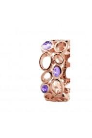 Inel Big Amethyst Bubbles 3-10c rose gold