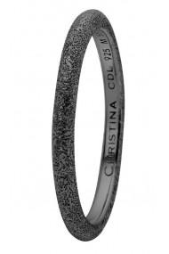 Inel Diamond Dust 0.5D negru