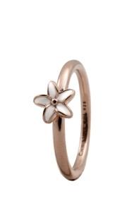 Inel Flower 1.8C rose gold