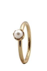 Inel Pearl Flower 2.2B auriu