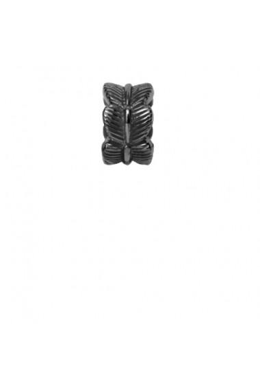 Leaf, Talisman, Argint 925 cu ruteniu