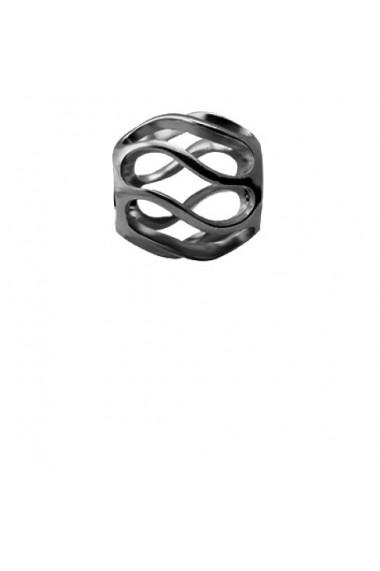 Twist, Talisman, Argint 925 cu ruteniu