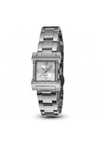 Ceas elegant casual Swiss Made 52 diamante 1 diamant negru cadran cu sidef natural Christina Watches