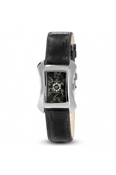 Ceas elegant Swiss Made 10 diamante 1 diamant negru Christina Watches