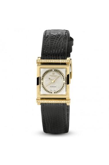 Ceas elegant Swiss Made 38 diamante 40 diamante negre dispune de 3 curele diferite Christina Watches
