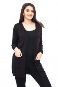 Jacheta Carmen Grigoriu cu buzunare-negru