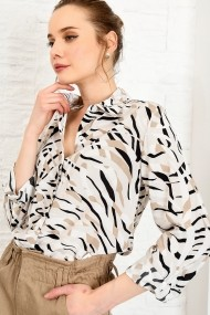 Camasa Alacati Stili DNZ-3157 Animal print