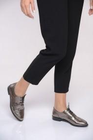Pantofi ShoesTime 19K 101 Argintiu