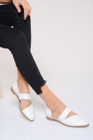 Pantofi ShoesTime 19Y 100 Alb