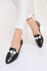 Balerini ShoesTime 19Y 107 Negru - els
