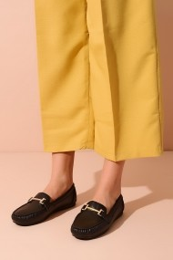 Mocasini ShoesTime 20Y 408 negru