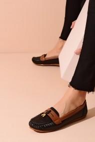Mocasini ShoesTime 20Y 417 negru