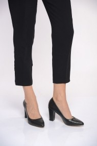 Pantofi cu toc ShoesTime 19K 207 Negru