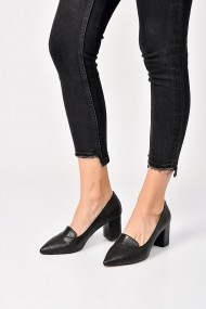 Pantofi cu toc ShoesTime 19K 209 Negru