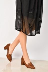 Pantofi cu toc ShoesTime 19K 209 Maro