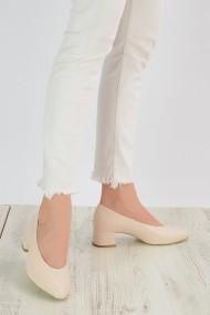Pantofi cu toc ShoesTime 19Y 2202 Bej