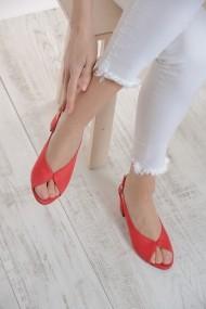 Pantofi cu toc ShoesTime 19Y 2210 Rosu
