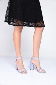 Sandale cu toc ShoesTime 19Y 2211 Albastru