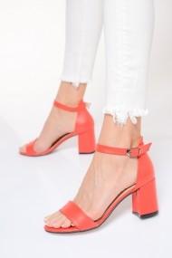 Sandale cu toc ShoesTime 19Y 3402 Rosu