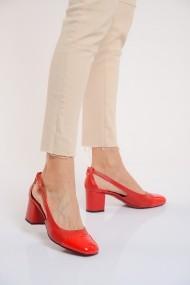 Pantofi cu toc ShoesTime 19Y 3422 Rosu