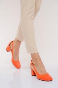 Pantofi cu toc ShoesTime 19Y 3422 Portocaliu