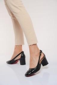 Pantofi cu toc ShoesTime 19Y 3422 Negru