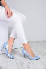 Pantofi cu toc ShoesTime 909 Albastru